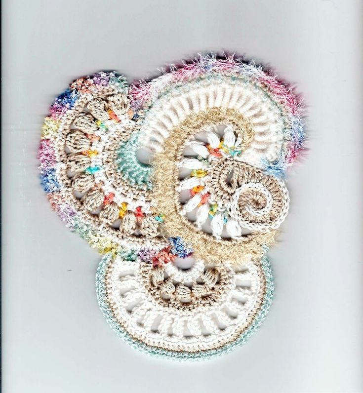 Mejores 100 imágenes de freeform crochet en Pinterest   Puntadas de ...