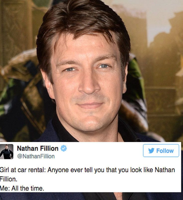 very good 24 Times Nathan Fillion Was The Funniest Thing On Twitter