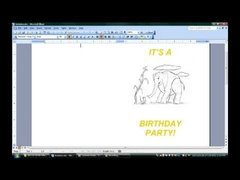 how to make wedding invitation video