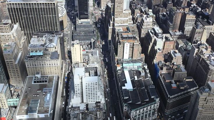 Manhattan Midtown Buildings New York City Filmati e video d'archivio 11975432 - Shutterstock