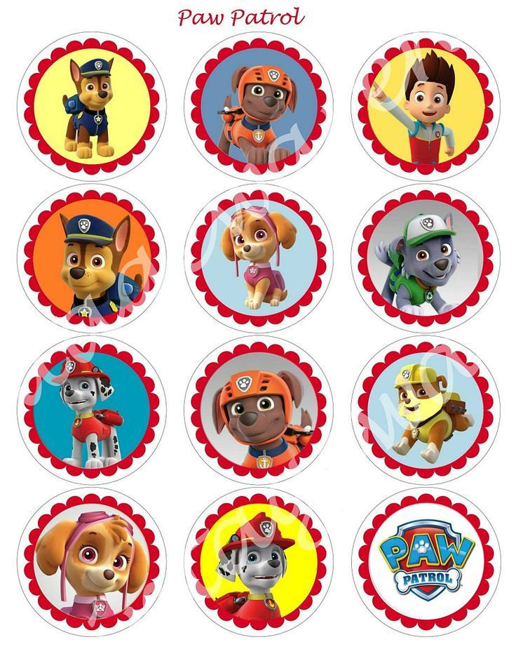 128 Best Images About Paw Patrol Party On Pinterest Minis Marshalls