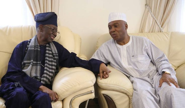 Today The senate President of Nigeria Senator Bukola Saraki paid a visit to Chief Tony Anenih former Chairman Board of Trustees of the Peoples Democratic Party (PDP).  http://ift.tt/2qOskHM news Politics