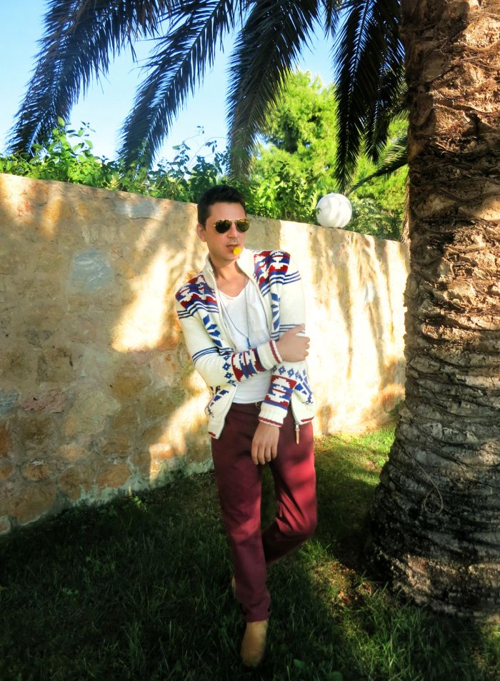 fashio blog, menswear, men's fashion, style, look of the day, pepe jeans, Acne, Zara, cardigan, stylentonic