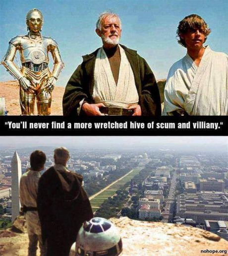 IndeedSpots, Funny Image, Truths, So True, Dark Side, Stars Wars, Humor, Washington Dc, Starwars