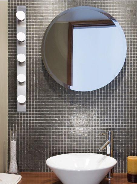 Aplique de baño decorativo