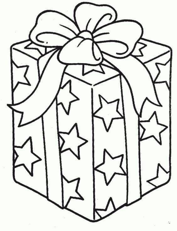 картинки подарка на новый год для вырезания обгоняемого транспортного