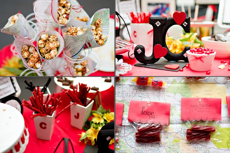 Wedding details: wedding reception sweets table