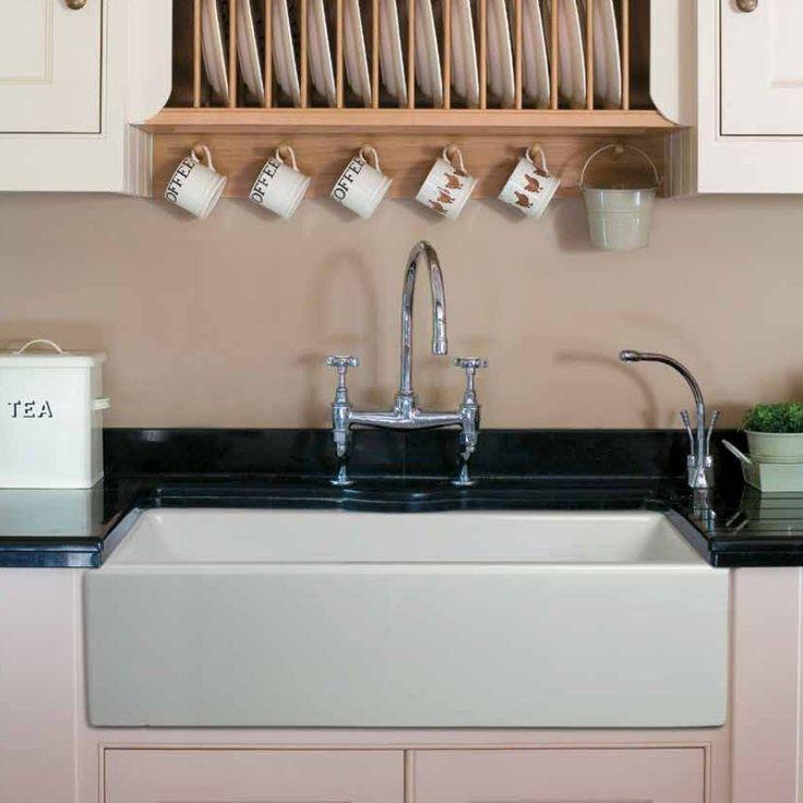 Randolph Morris 36 x 18 Fireclay Apron Farmhouse Sink - Farmhouse Sinks - Kitchen Sinks - Kitchen