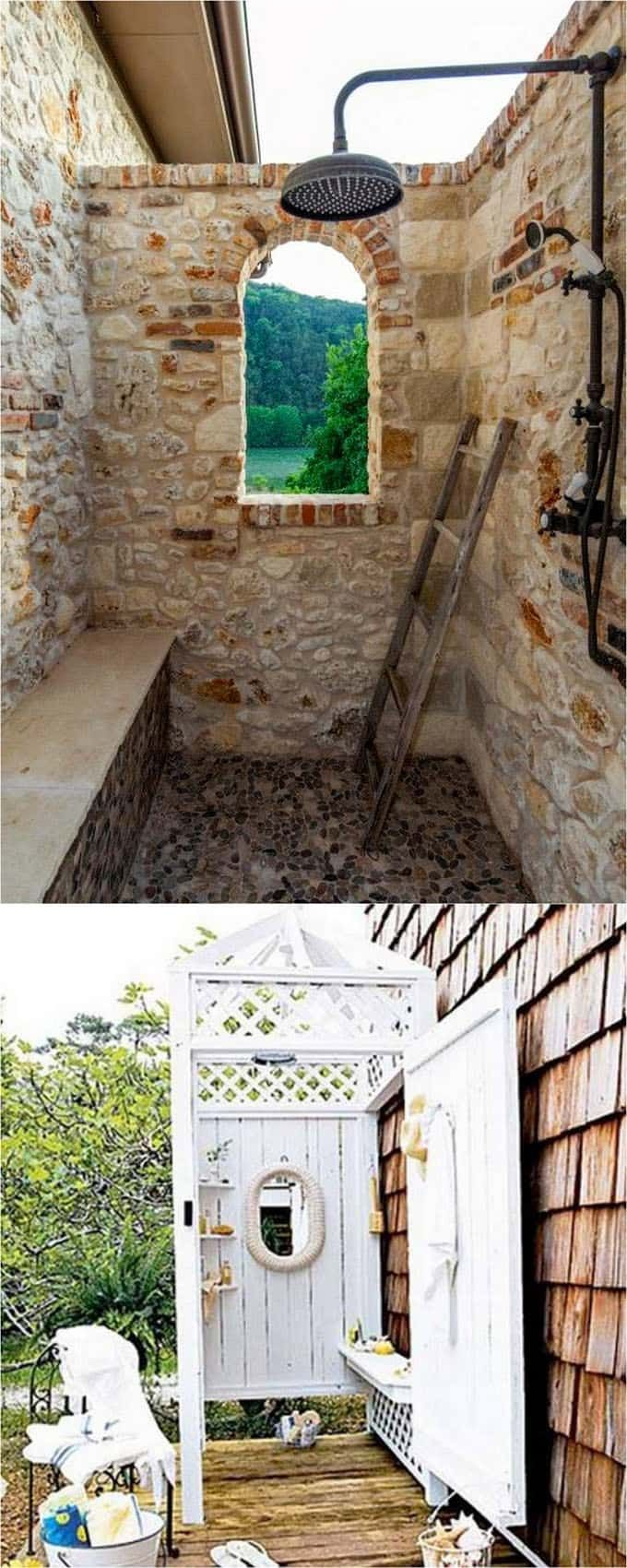 Ideal  DIY Outdoor Shower Ideas