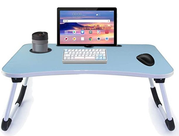 طاولة لاب توب سهل طيها داخل المنزل Folding Laptop Table Laptop Table Table