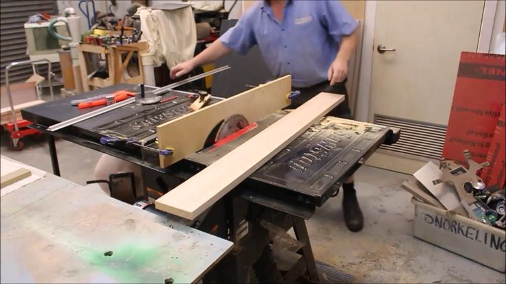 Quick & Dirty Table Saw Jointing Jig