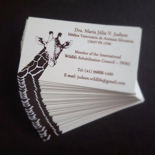 Cartão de visitas para médica veterinária