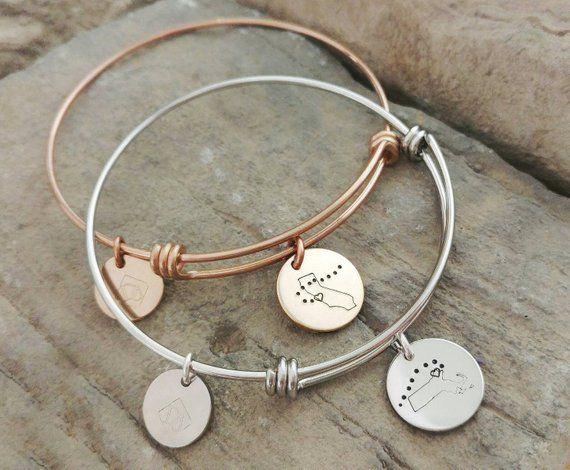a45c1291ae4ba Best Friend Bracelets - Long Distance Friendship Jewelry -Best ...