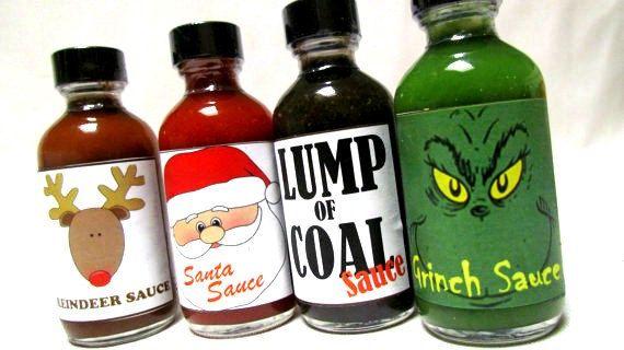 Lump of Coal Grinch Santa Claus Reindeer Hot by InNonnasKitchen