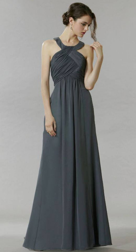 Featured Dress: Saison Blanche Couture; Bridesmaid dress idea.