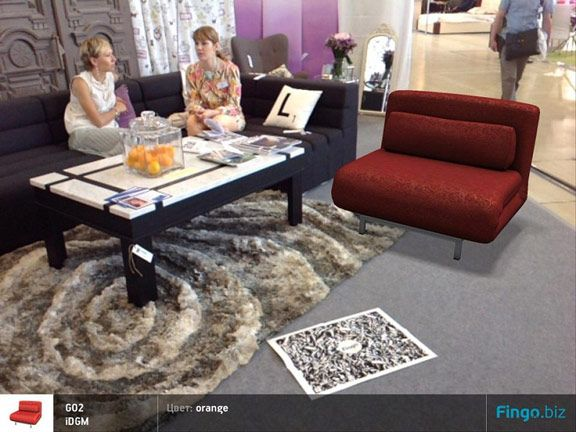приложение Fingo для iPad: выбор, примерка и покупка мебели fingo 3d catalog furniture gudapp