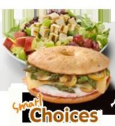 Smart Choices at Einstein Bros Bagels