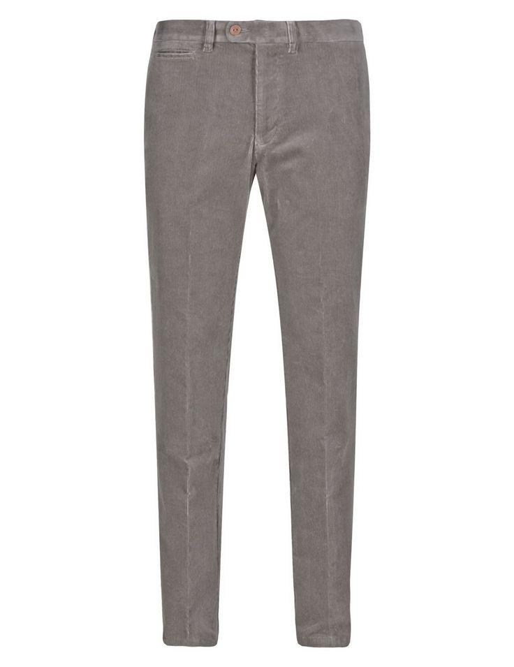 Pantalón de pana de algodón de corte fuseau de primera calidad -M&S