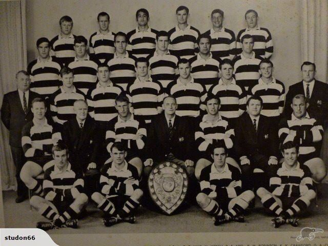 HB Magpies when they first won the Ranfurly shield.