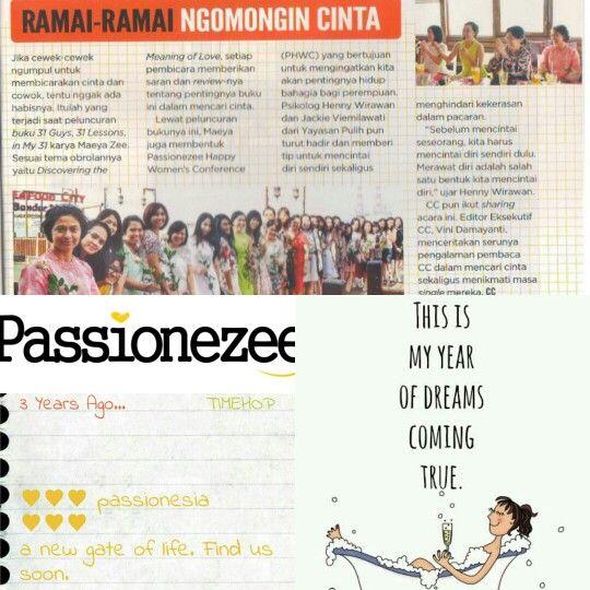 Passionezee Happy Women's Conference. Indonesia