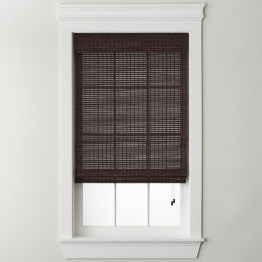 jcp home™ Bamboo Woven Wood Roman Shade   found at @JCPenney