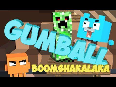 Gumball 3D Minecraft                     Juegos de Gumball - jugar online