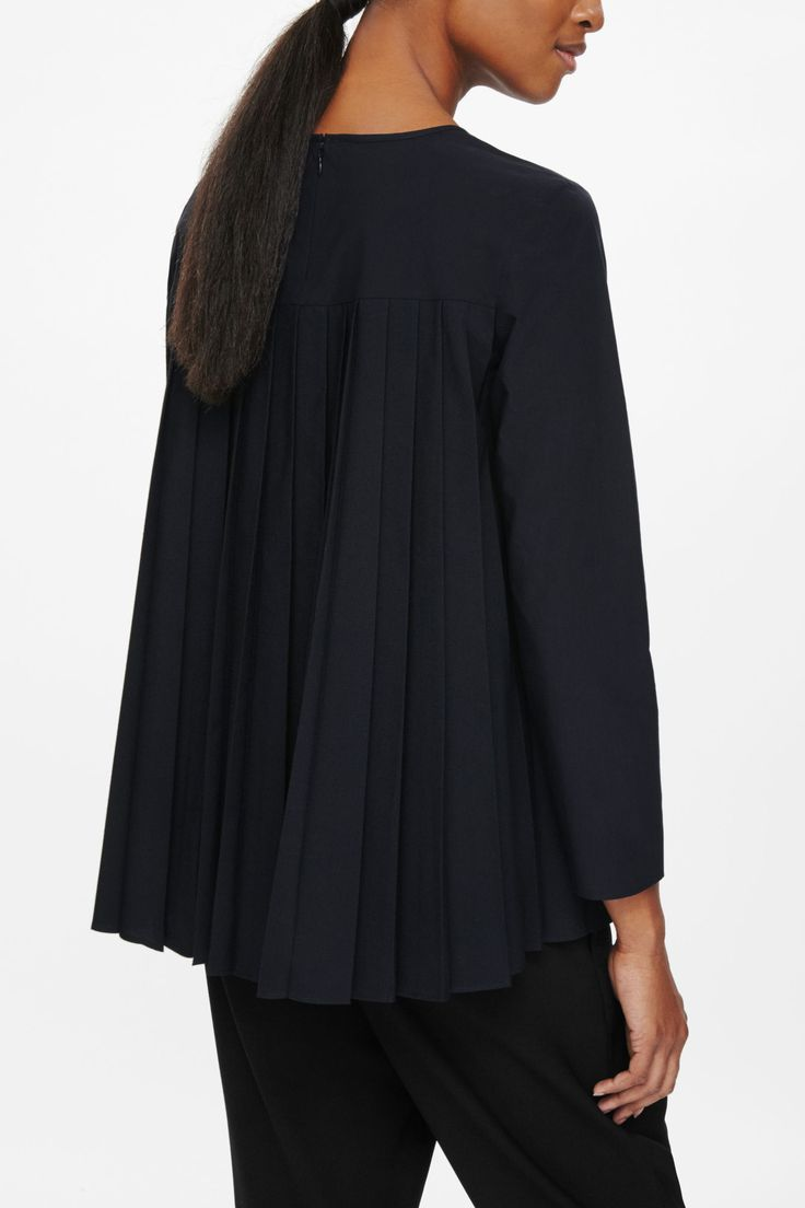Pleated back cotton top COS euro 69 C'FACTOR CHOICE FW 2015/16