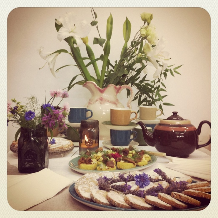The talented Areez Katki does afternoon tea at Miss Crabb, how decadent!