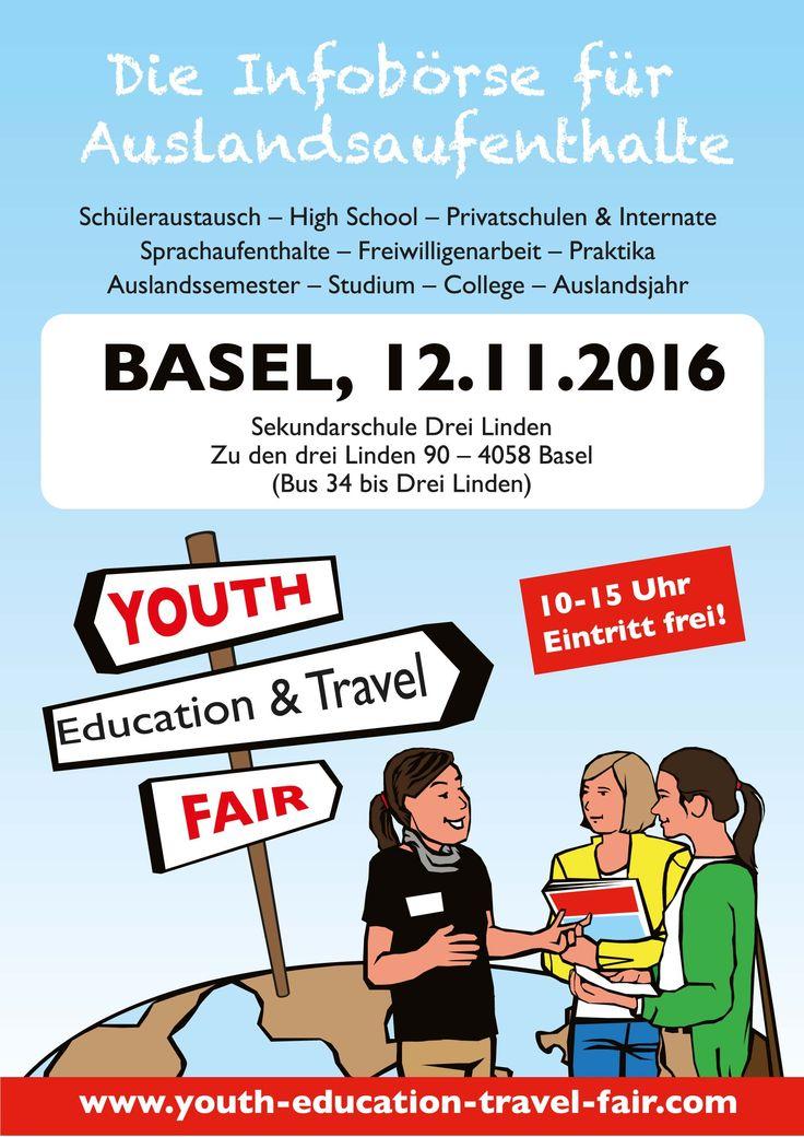 YETF Basel 12.11.2016 #Fernweh #Auslandsjahr #Basel #Schweiz