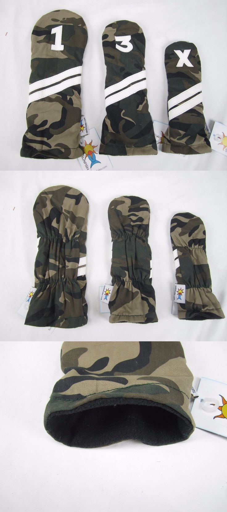 Club Head Covers 18930: Sunfish Camouflage Golf Headcover Set - Dr, Fw, Hb Military Camo Army -> BUY IT NOW ONLY: $69.99 on eBay!