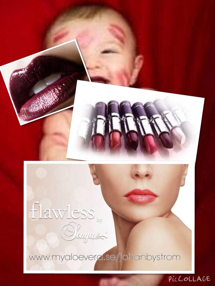 Put lipstick on and live a little http://myaloevera.se/johanbystrom/sv/shop/category/lappar_1