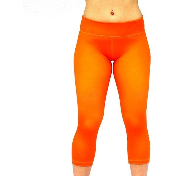 Shop Seamless Capris in Crossfit Style – Strongerrx.com found on Polyvore