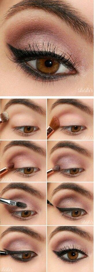 makeup makeup tutorials pinterest make up lidschatten und kosmetik. Black Bedroom Furniture Sets. Home Design Ideas