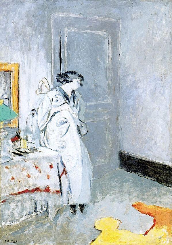 Édouard Vuillard - Das blaue Zimmer - 1916-17