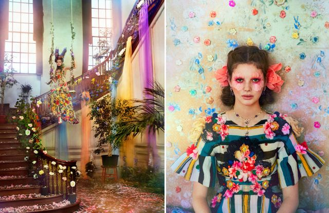Town & Country April 2013) Category: Editorials Tags: Chanel, Christian Dior, Dolce & Gabbana, floral, Hannah Teare, Mulberry, Oscar de la Renta, Ruven Afanador, Town & Country