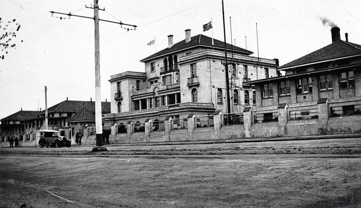 Geelong Hospital circa 1915