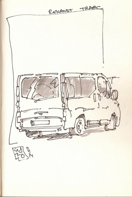 renault trafic by josu maroto, via Flickr