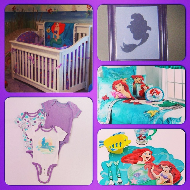 10 Best Images About Decor Little Mermaid On Pinterest