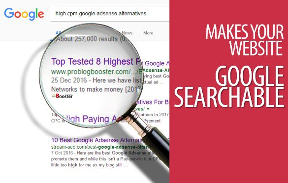 Top Things Google Requires To See On Your Blog — How to make your website Google searchable? How to get your content on Google? How to make your site enlist into search results? How to get your website content to appear in Google, Bing or any popular search engine? Learn to make sure your brand business and website is found on the Google.