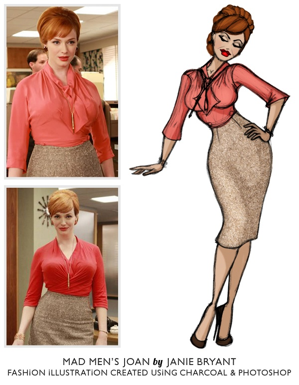Joan Holloway Harris - Mad Men I need this outfit!!!  Hmmm perhaps a good outfit to try and put together for teaching.
