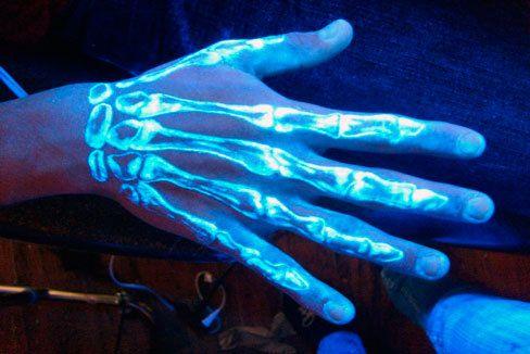 grafika hand, tattoo, and neon