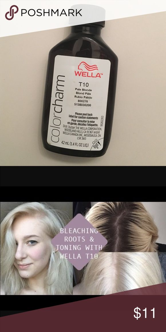 Wella T10 Toner Just bleached your hair? Looking a little orange? Tone it! This toner will have your hair looking pale blonde not orange!!! Doesn't come with box! But it's brand new never opened! Urban Outfitters Makeup
