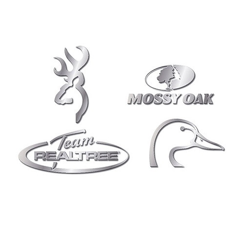 Browning, Mossy Oak, Team Realtree, Ducks Unlimited, also needs to mention Buck/Duck Commander and Bone Collector