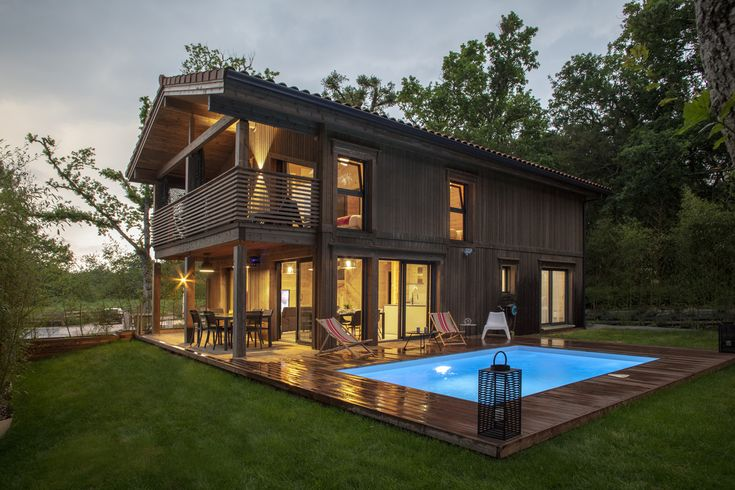 14 best Chalet bois en kit images on Pinterest
