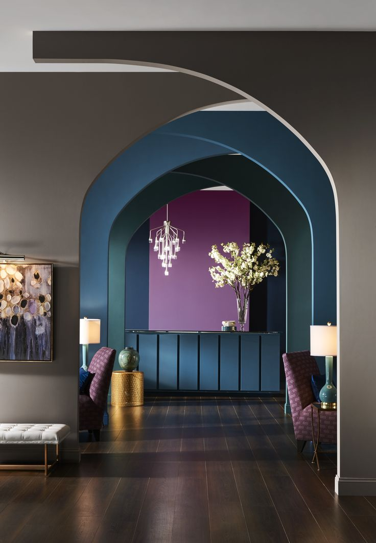 Sherwin-Williams has released four new color palettes. A team of design and…