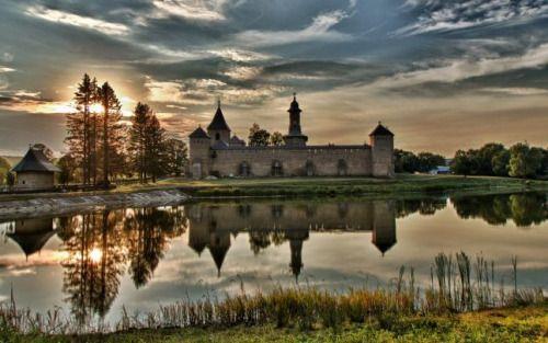 theseromaniansarecrazy:  The Dragomirna Monastery in Romania,...