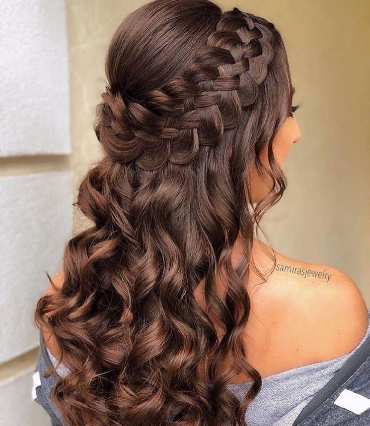 Bem tumber | Cabelo de 2019 | Pinterest | Penteados, Penteados formatura e Cabelo penteado