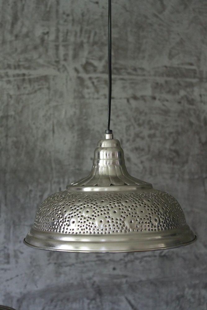 Shabby Hnge Lampe 30 Cm Vintage Industrielampe Deckenlampe Loft Hngeleuchte