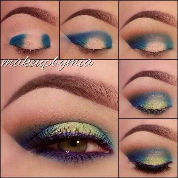 Blue a de green