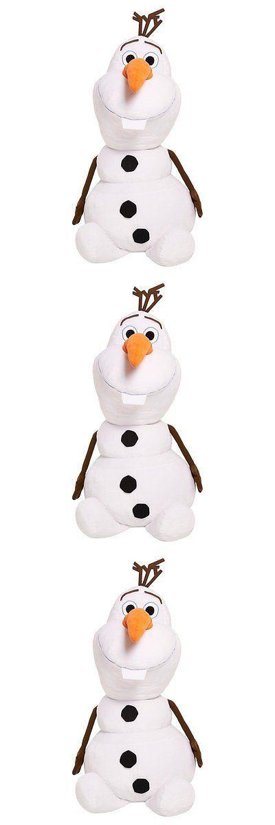 Disney 439: Disney 48 Inch Stuffed Olaf Toy -> BUY IT NOW ONLY: $43.26 on eBay!